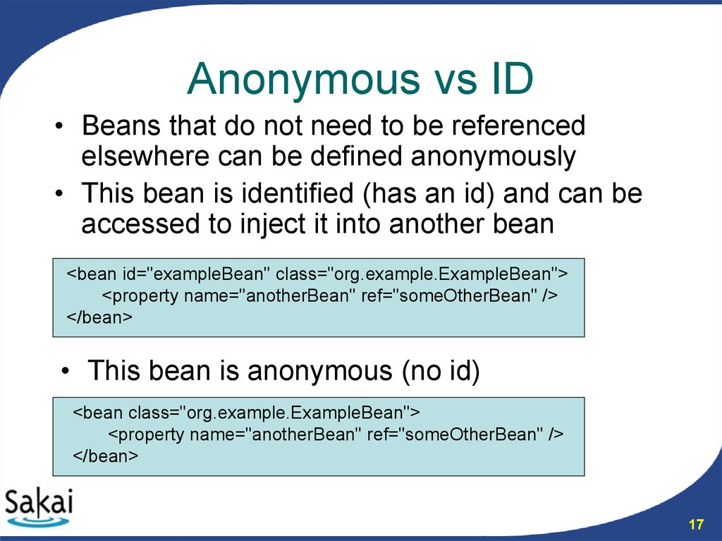 Anonymous vs ID