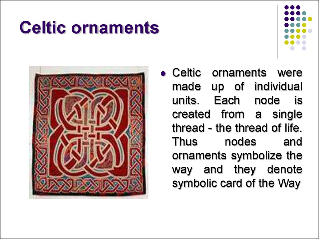 Celtic ornaments