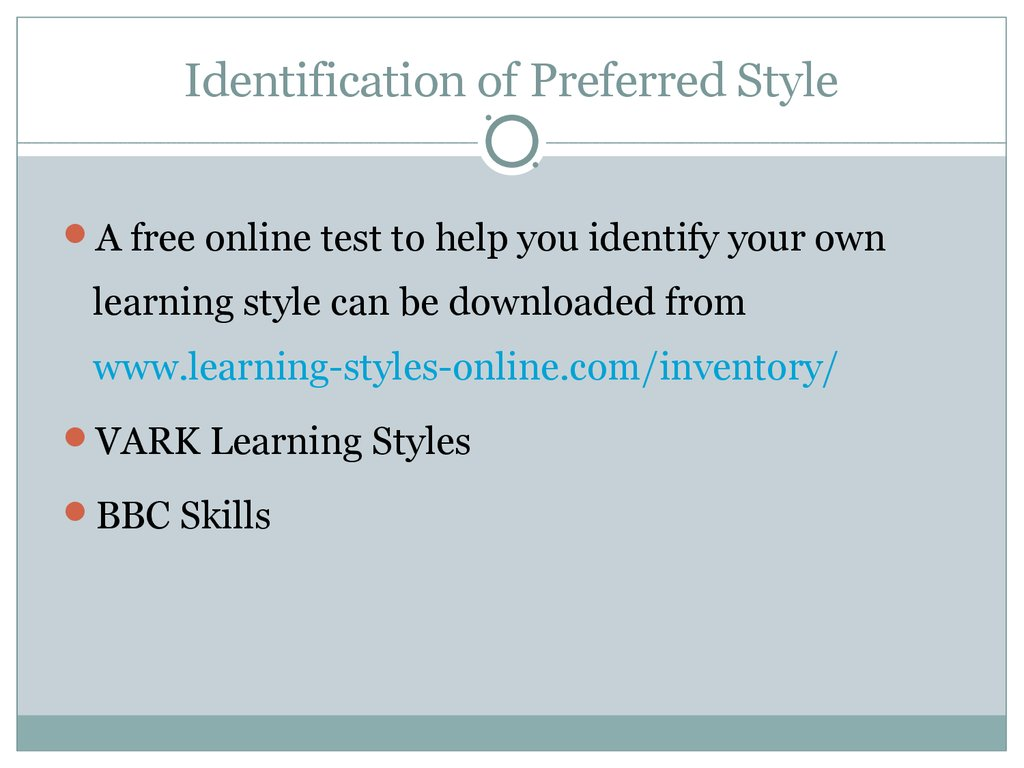 vark learning styles questionnaire free