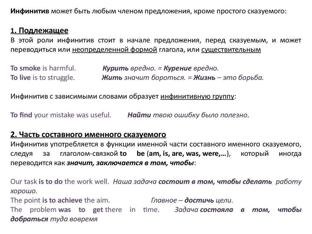 Член предложения сказуемое выраженным переходным глаголом