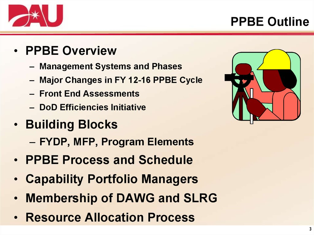 PPBE Outline