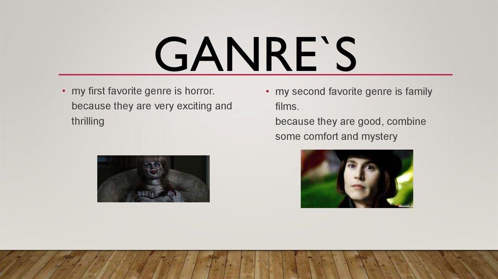 favorite genre