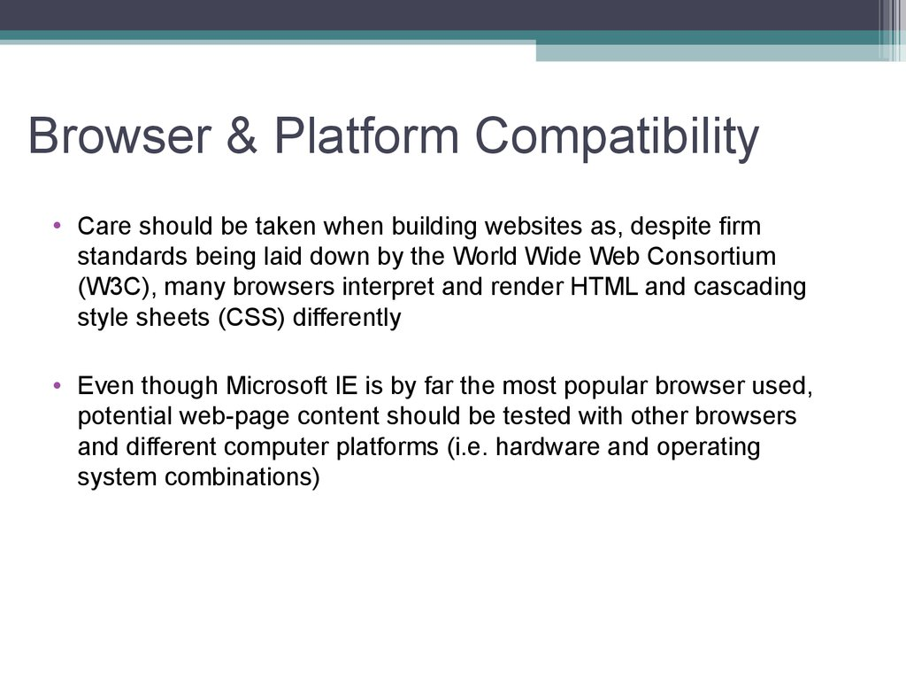 Browser & Platform Compatibility