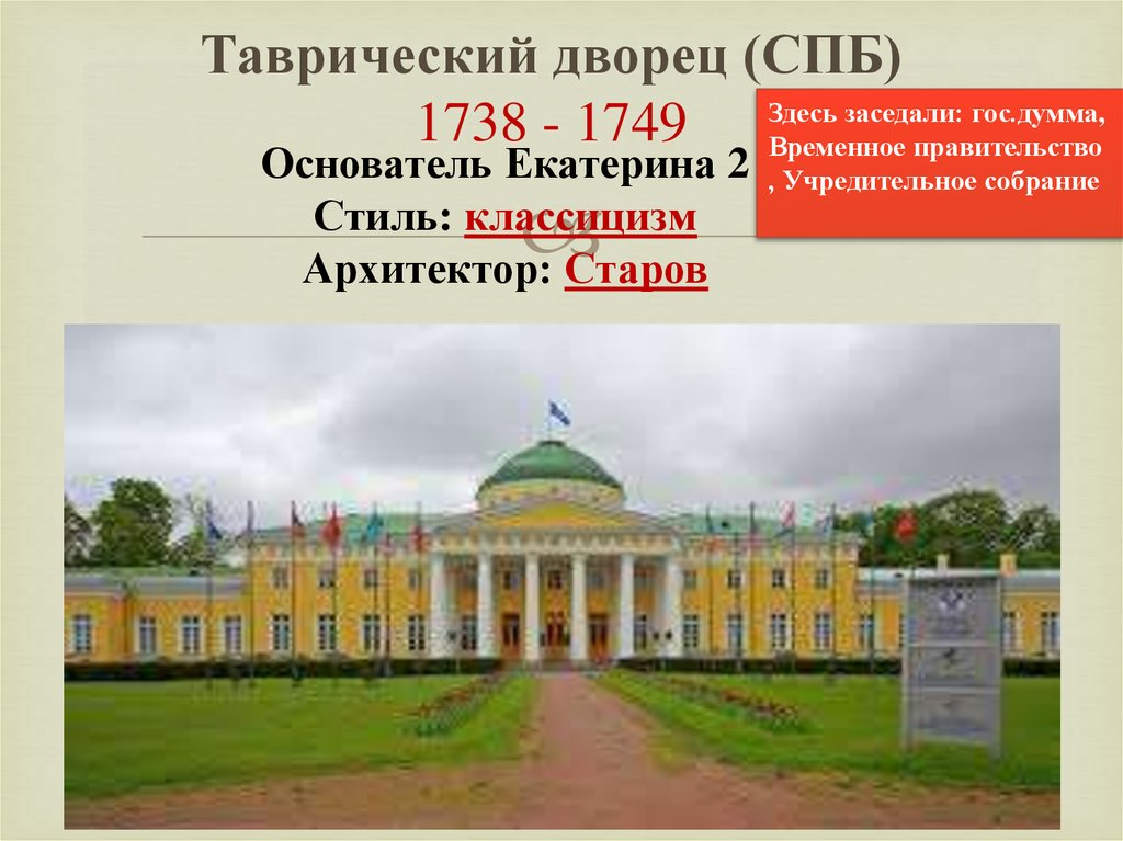 Спб таврический дворец исторические планы картинки