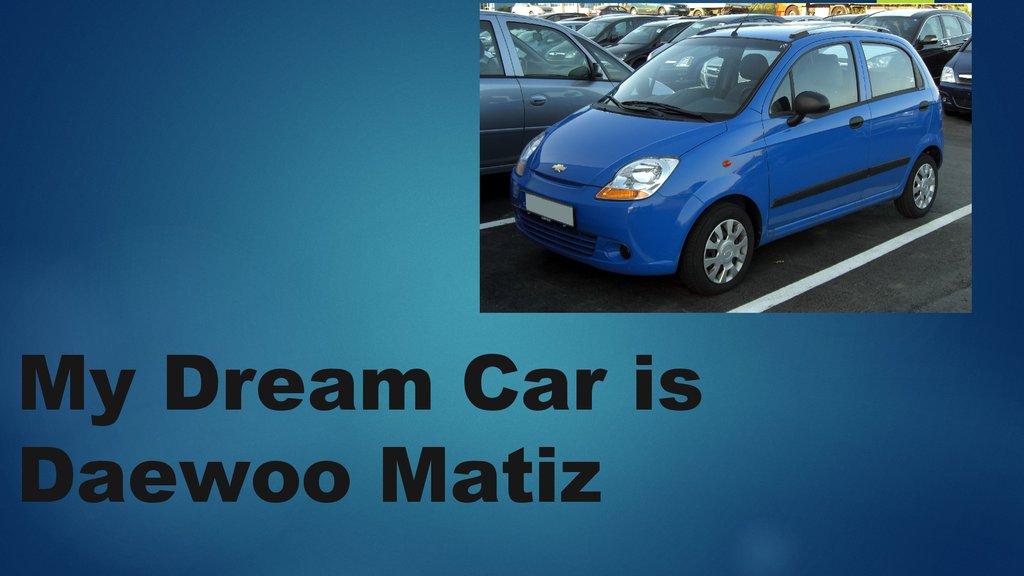 My dream car | Term paper Help nupaperesgi ski-slovacia info