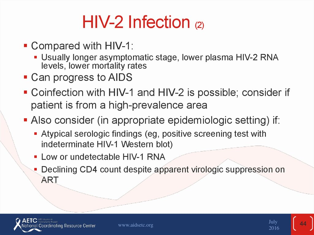 HIV-2 Infection (2)