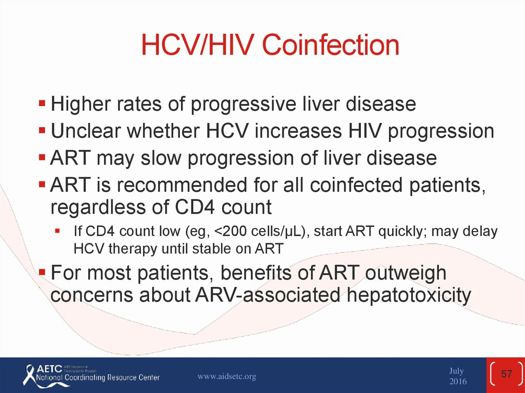 HCV/HIV Coinfection