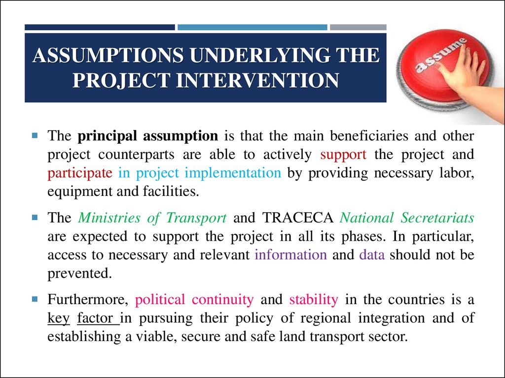 assumptions and principles underlying standards for