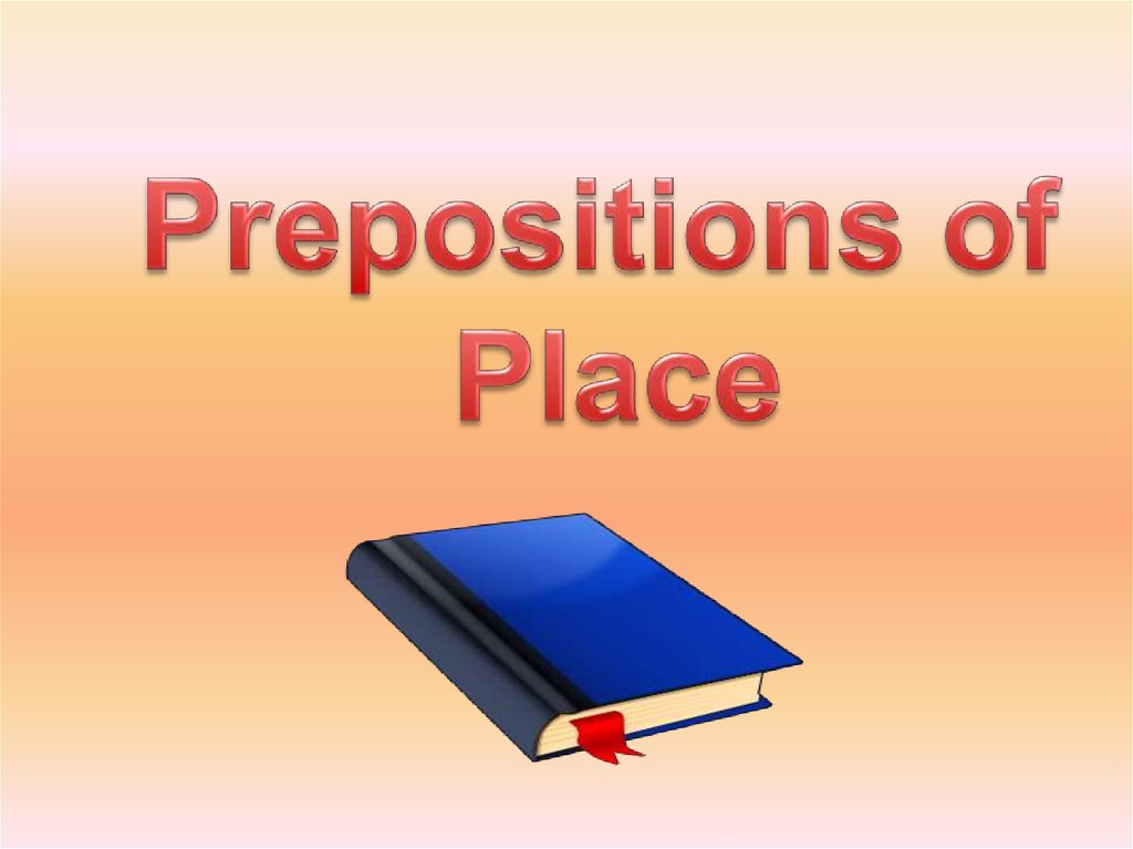 Prepositions Of Place Online Presentation