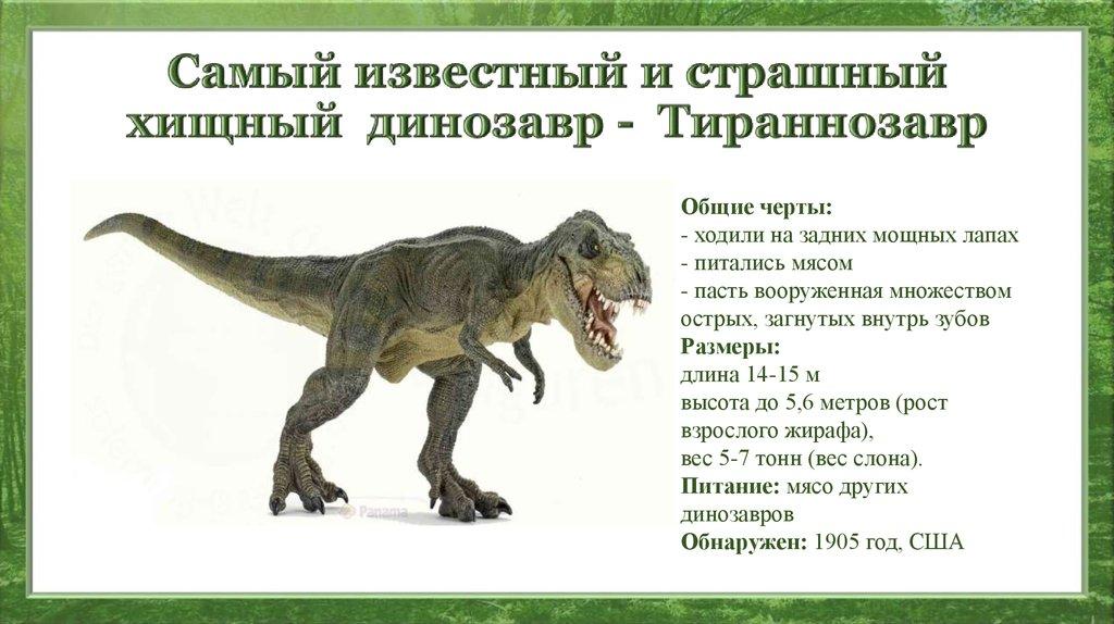 виды динозавров картинки и описание перми сейчас создается