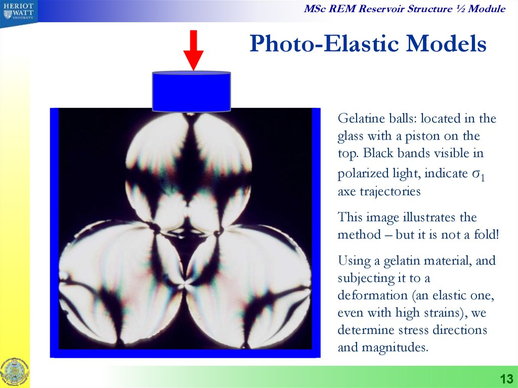 Photo-Elastic Models