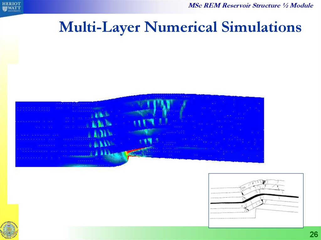 Multi-Layer Numerical Simulations