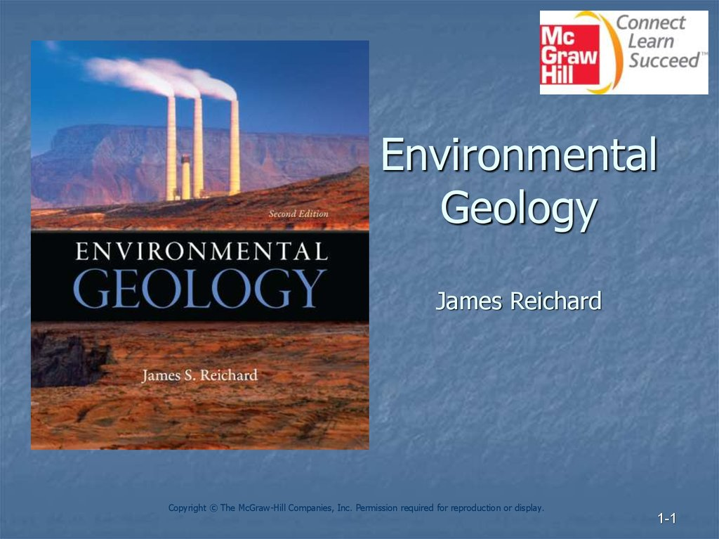 Environmental Geology James Reichard