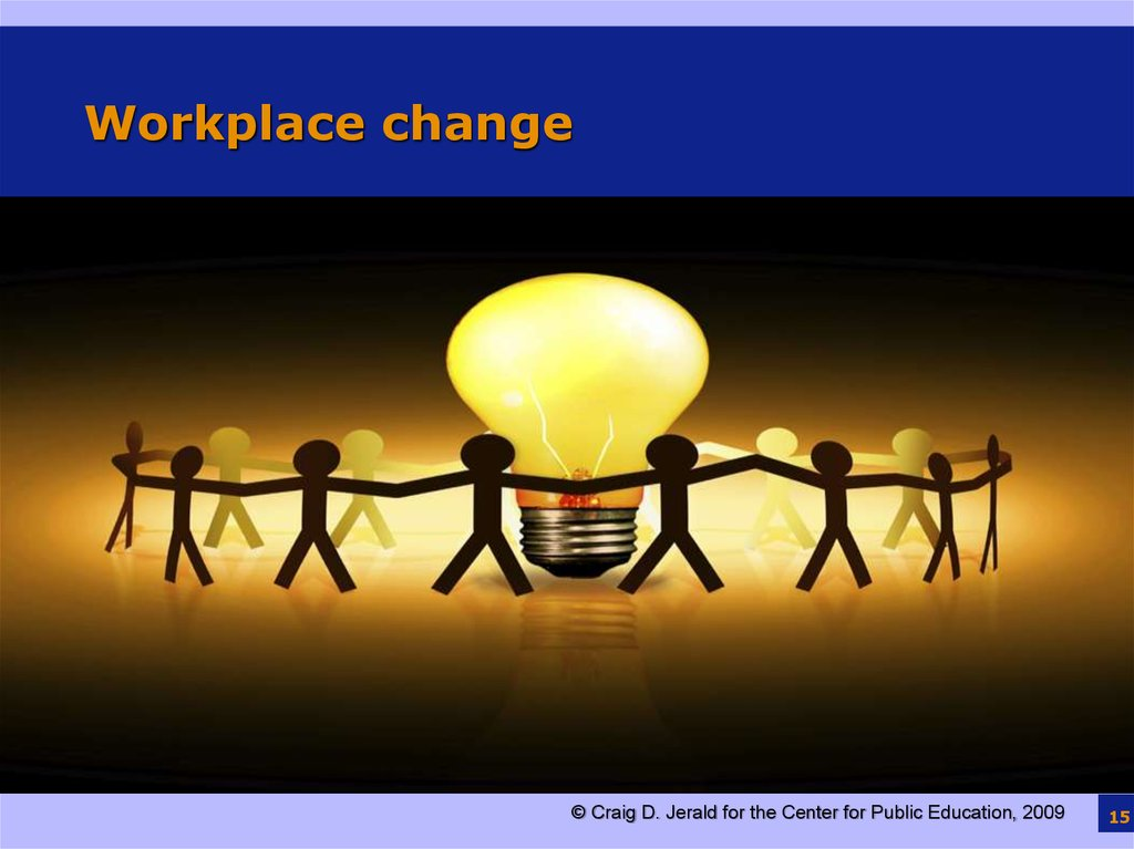Workplace change