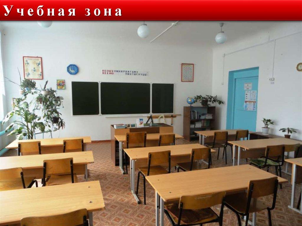учебная зона в начальной школе фото