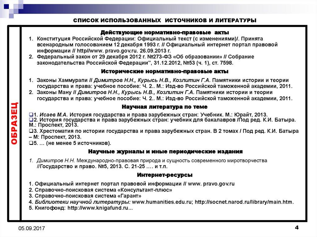 Контрольная работа источники конституционного права в зарубежных странах 3745