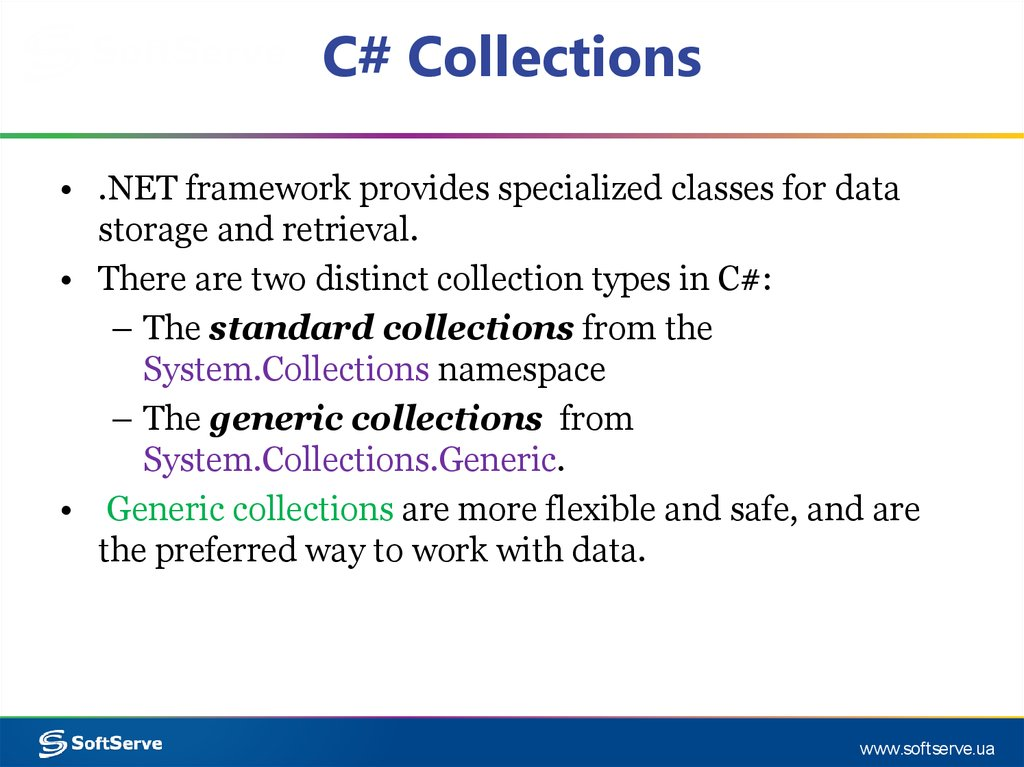 C# Collections