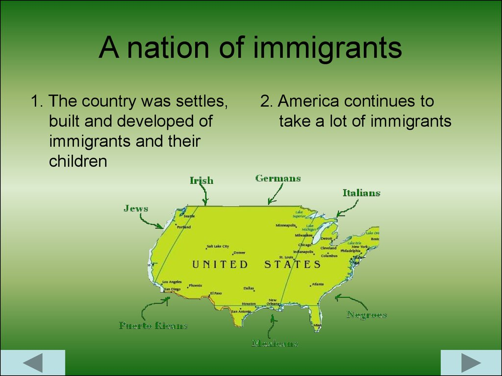 america as a nation of immigrants essay America as a nation of immigrants america has, is, and will always be a nation of immigrants: the great melting pot in the years that have passed since emma lazarus' poem was inscribed on the statue of liberty the golden door americans have seen times when the door was open wide and times when it was close shut to most immigrants (sure 4.
