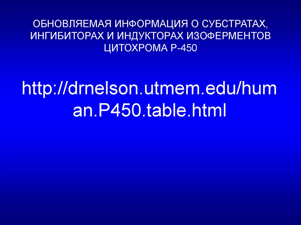 http://drnelson.utmem.edu/human.P450.table.html