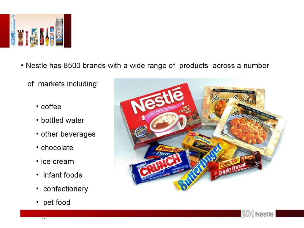 nestle case study international business Nestle cp since henri nestlé developed the first milk food for infants in 1867, and saved the life of a neighbor's child, the nestlé company has aimed to build a business as the world's leading nutrition, health and wellness company based on sound human values and principles.