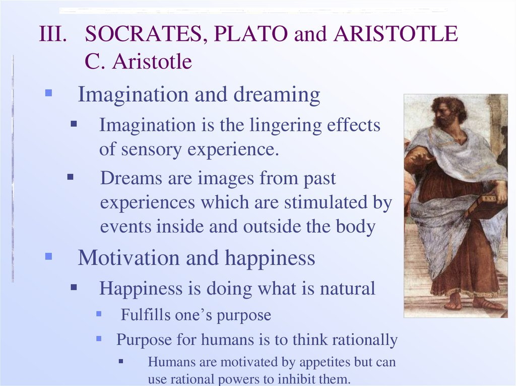 how plato and aristotle built on pre socratic philosophy Socrates, plato and aristotle according to plato, socrates announced that he honored and loved the men of athens and that he would never abandon philosophy.