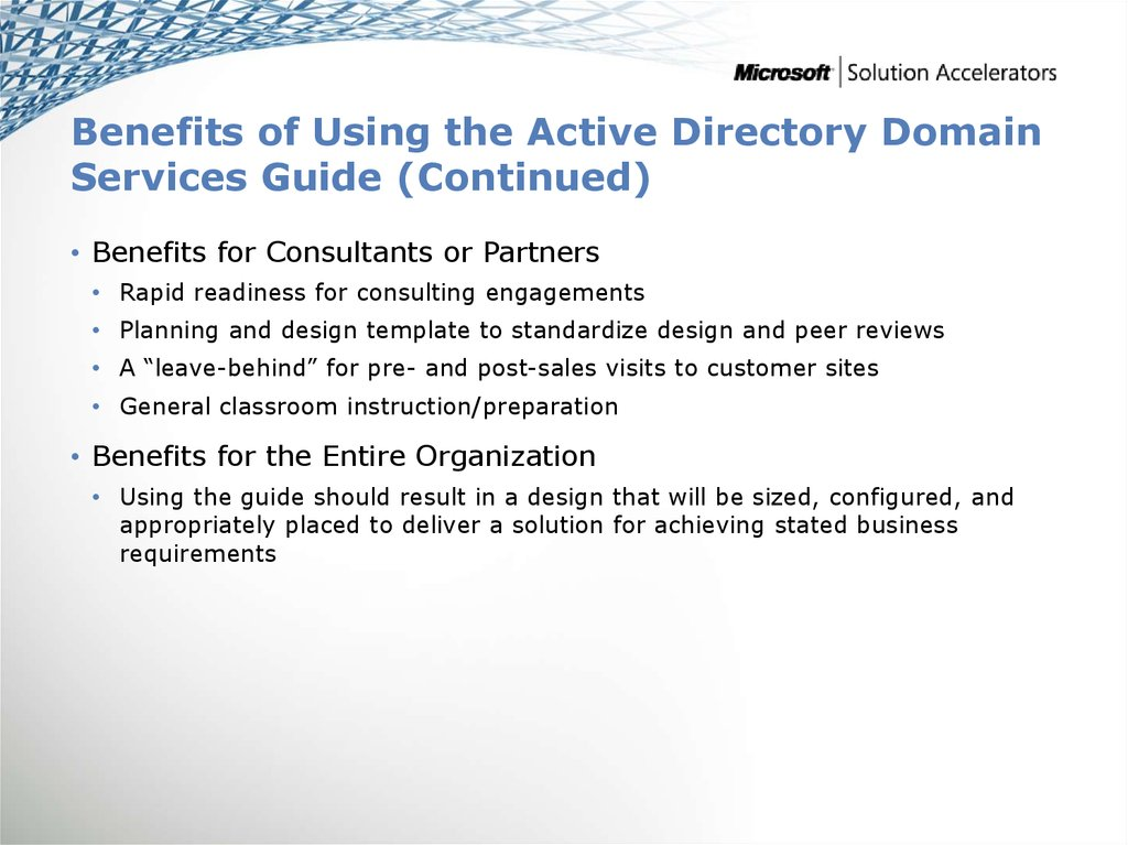 Ipd Active Directory Domain Services Version 22