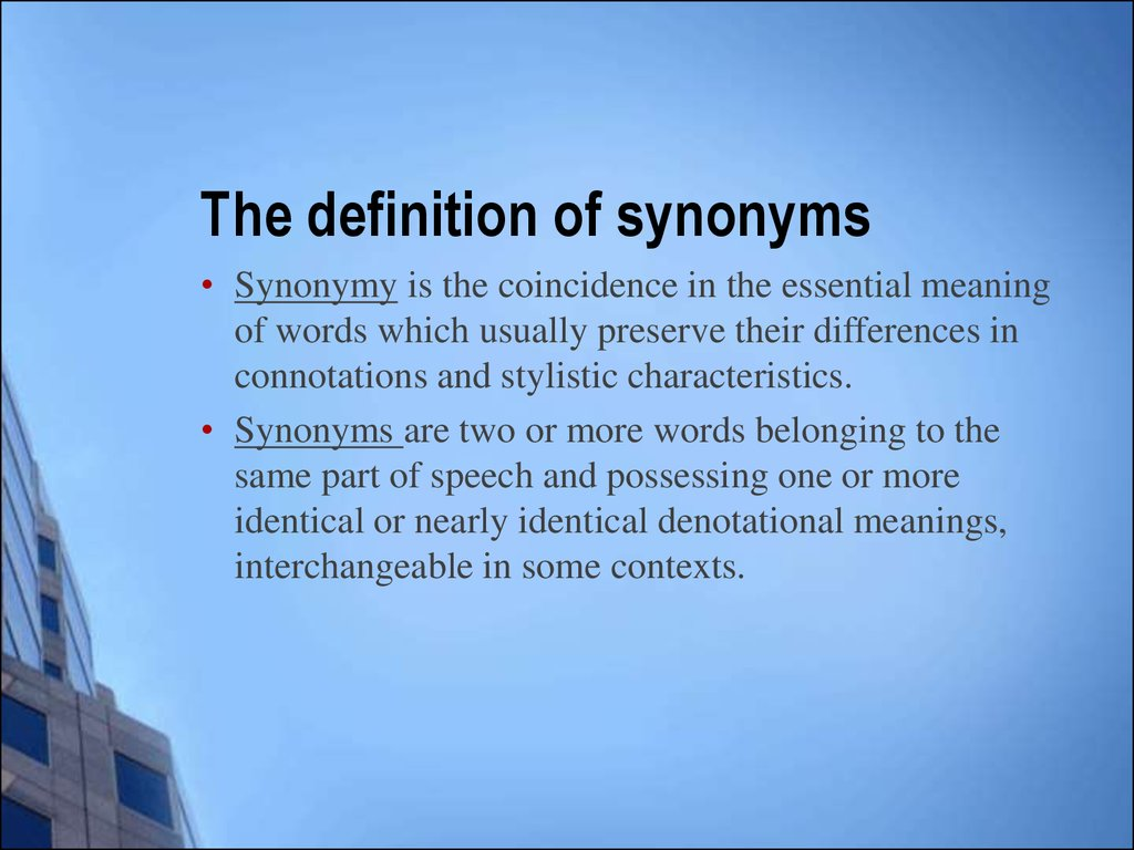 Lecture Synonyms
