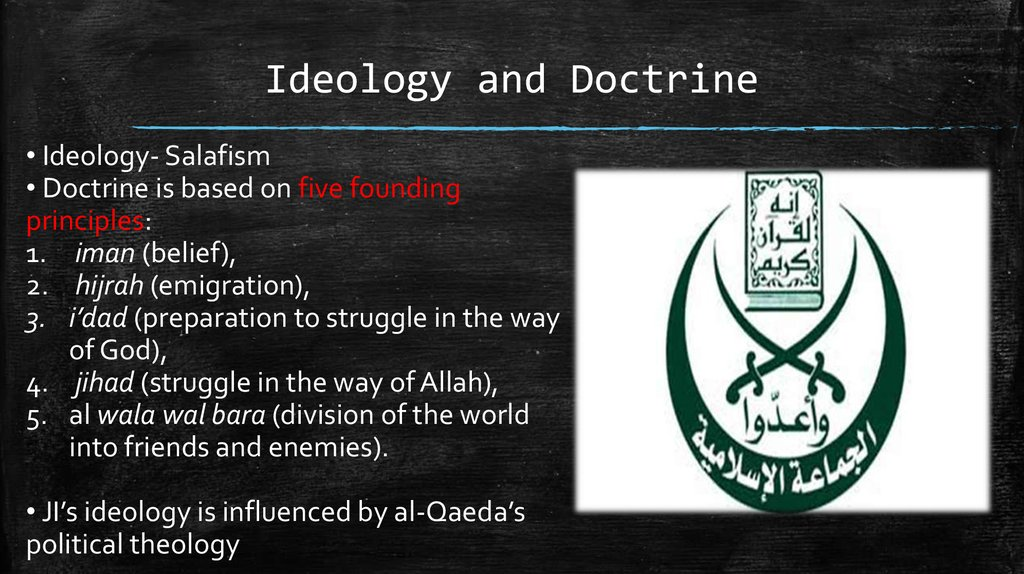 Ideology and Doctrine