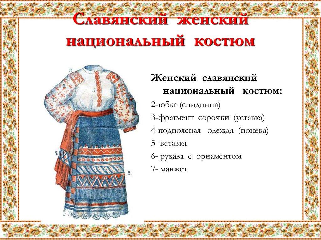 Русская старинная одежда картинки и названия