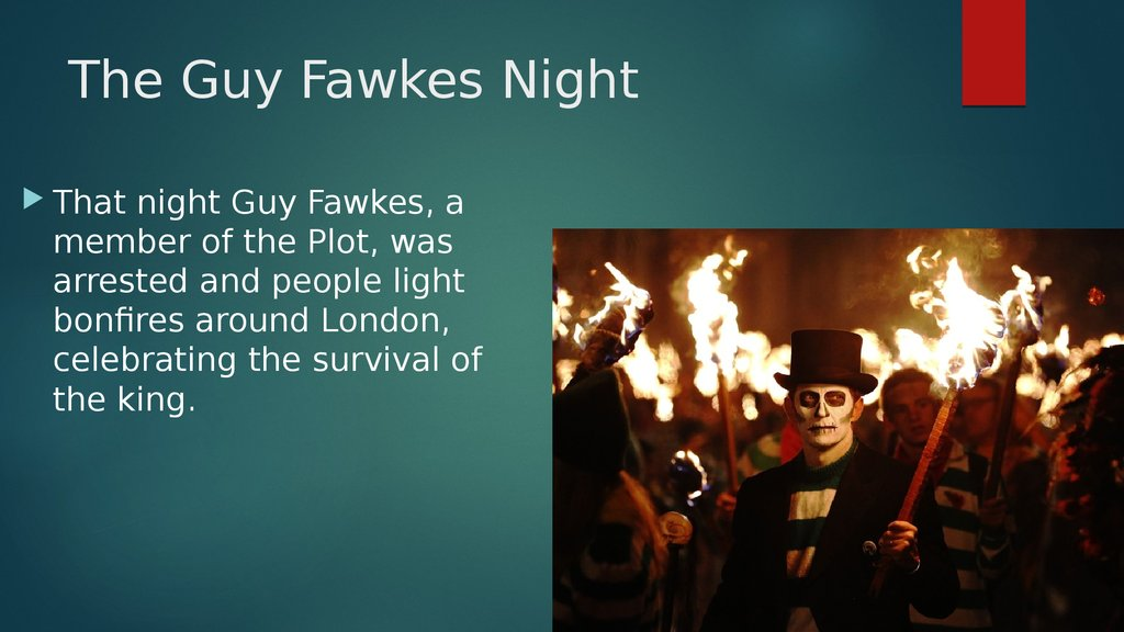 The Guy Fawkes Night