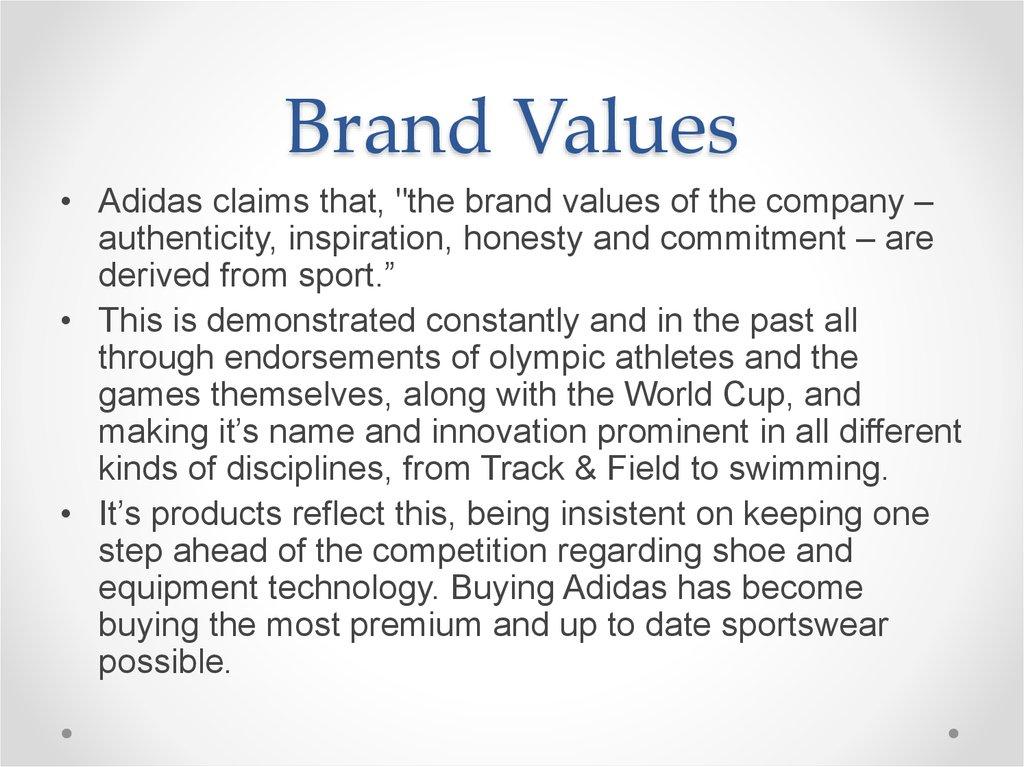 mercenario zapatilla capitán  A brand case study Adidas - презентация онлайн