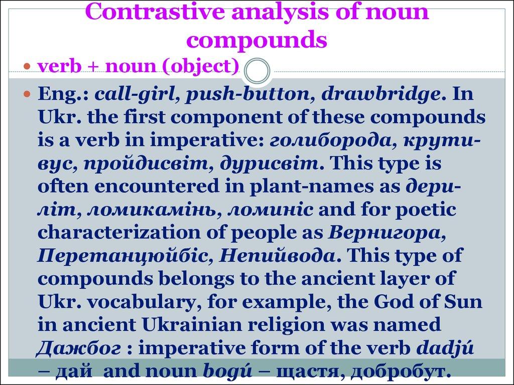 contrastive analysis english and torajanese pitch