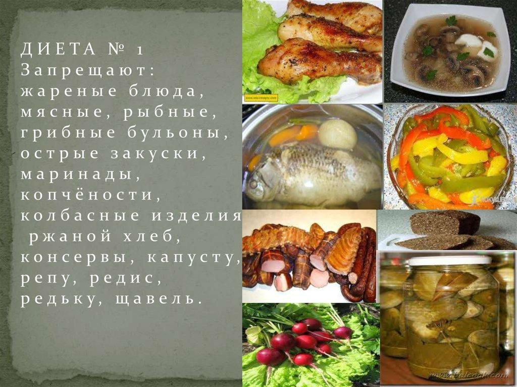 Диета 1 б: меню на неделю Рацион диеты 1 б по Певзнеру