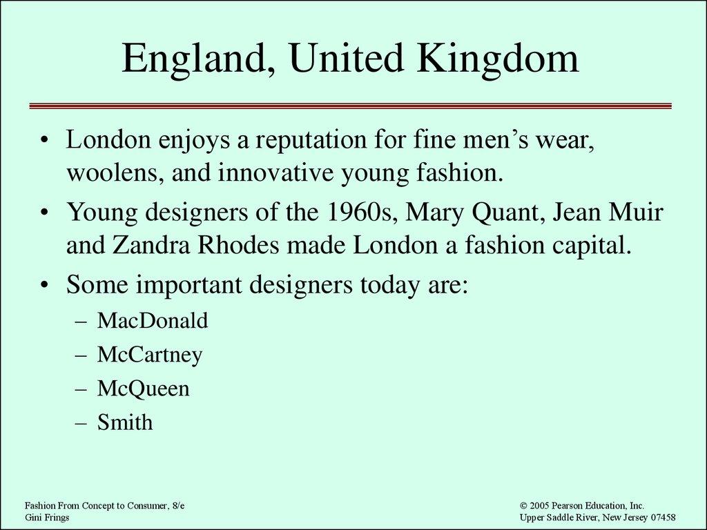 International Fashion Online Presentation