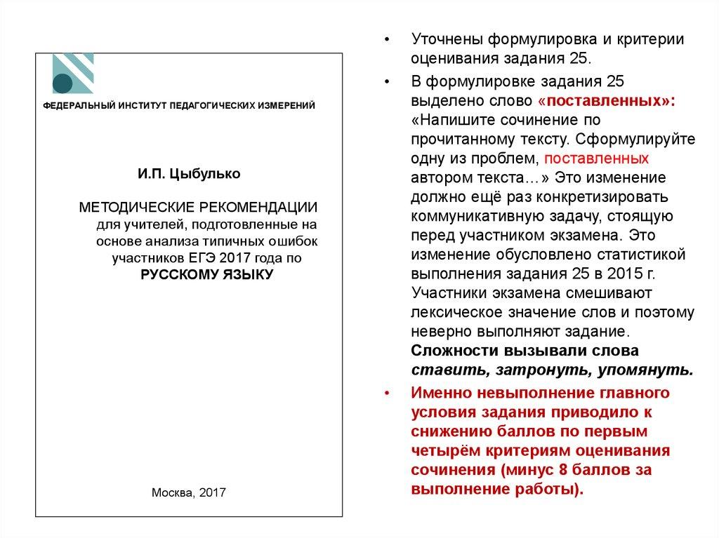 фипи сочинения по русскому языку 9