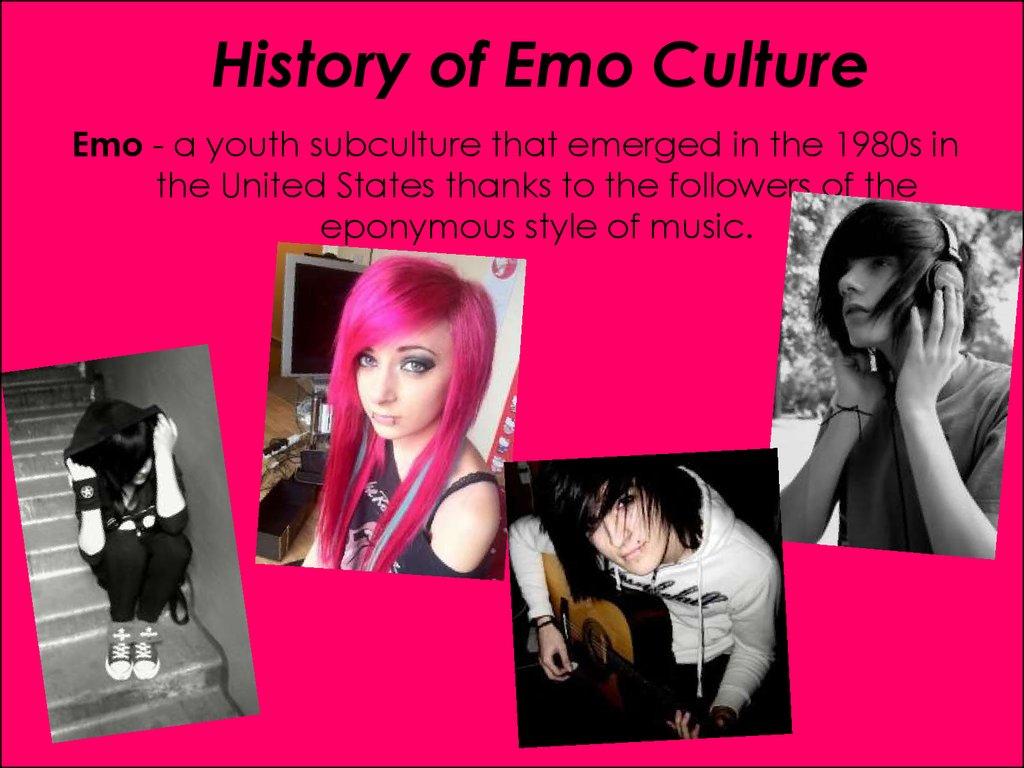 Essays emo subculture