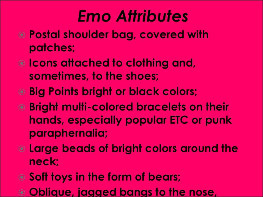 Emo Vs Goty Online Presentation
