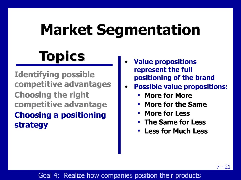 company introduction market segmentation and product positioning 2 essay Facilitate target marketing, product positioning and the introduction to segmentation and marketing mix to the company marketing introduction.