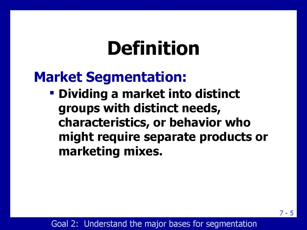 segmentation, targeting and positioning. building the right