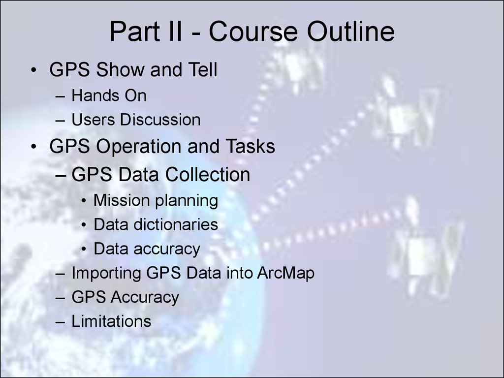 GPS - презентация онлайн