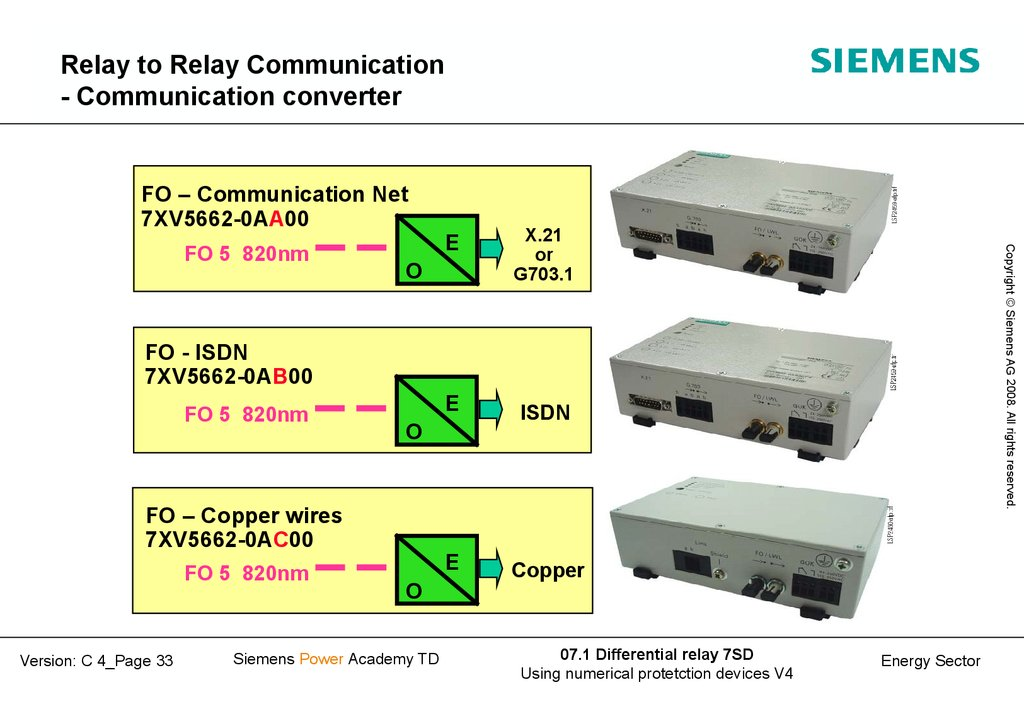 Relay to Relay Communication - Communication converter