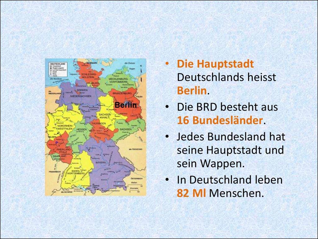 bundesländer deutschland hauptstadt