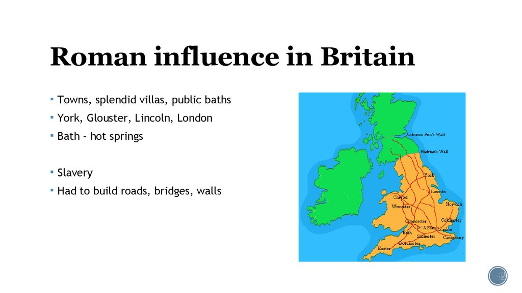 Roman influence in Britain