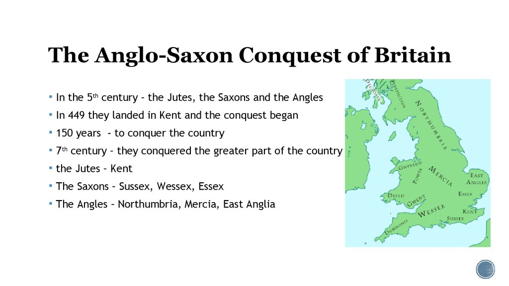 The Anglo-Saxon Conquest of Britain