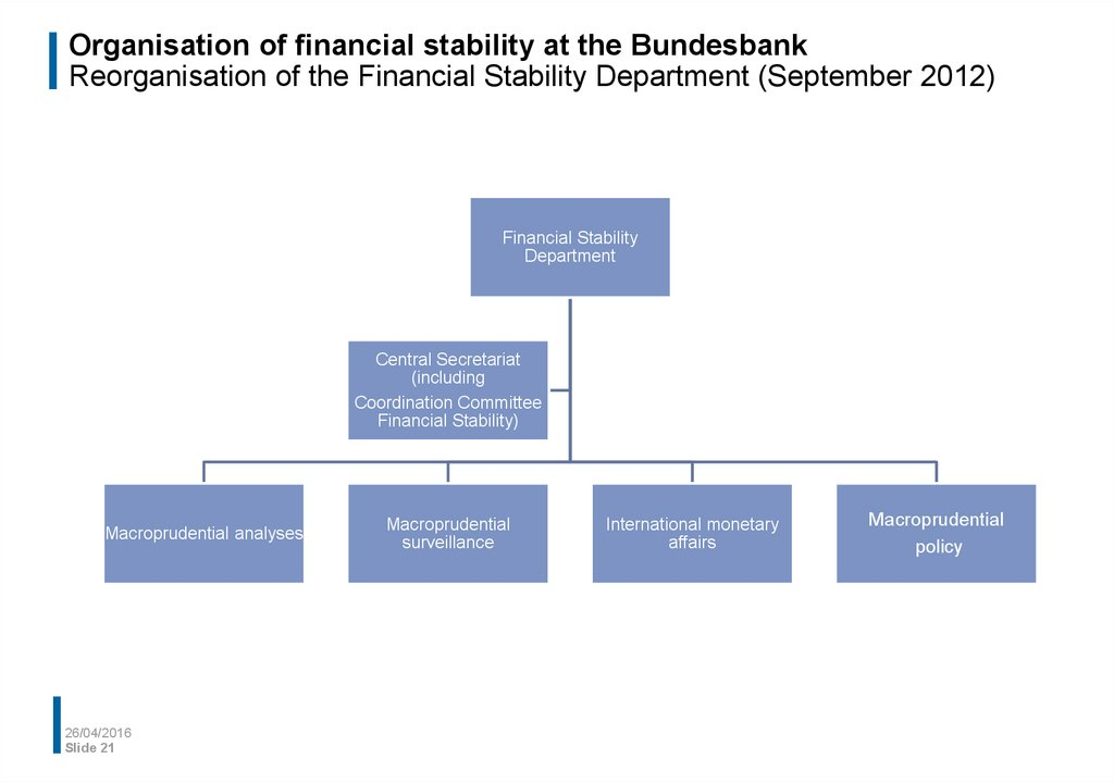 financial stability Financial stability paper series no 1/march 2008 what is financial stability by abayomi a alawode, financial stability directorate.