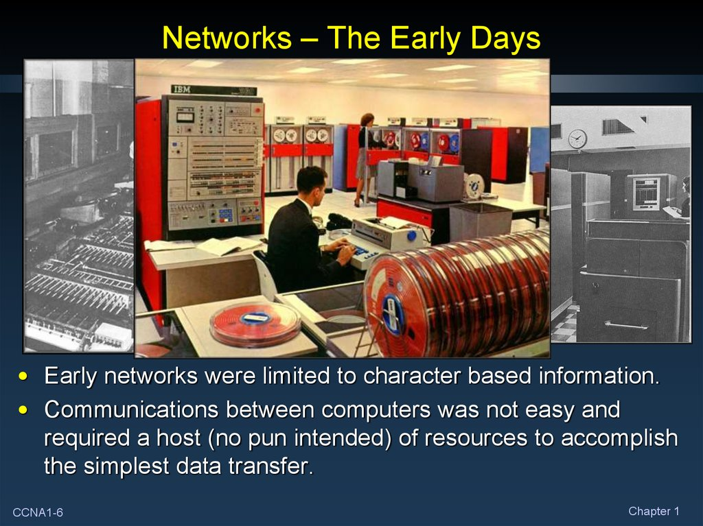 Networks – The Early Days