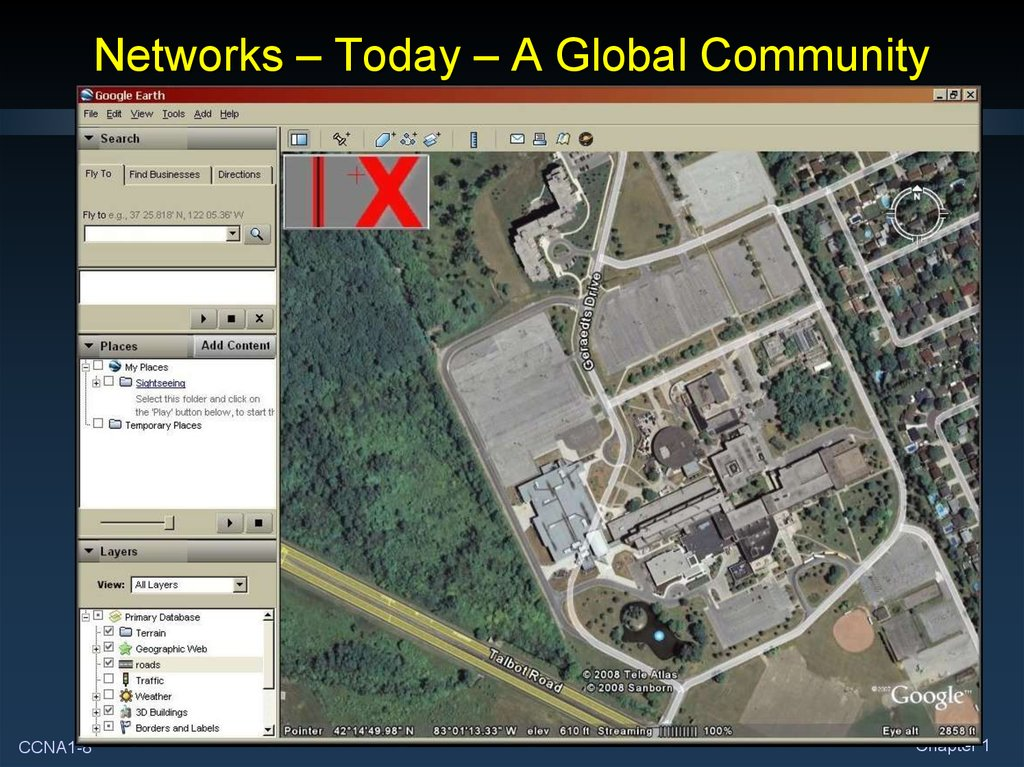Networks – Today – A Global Community