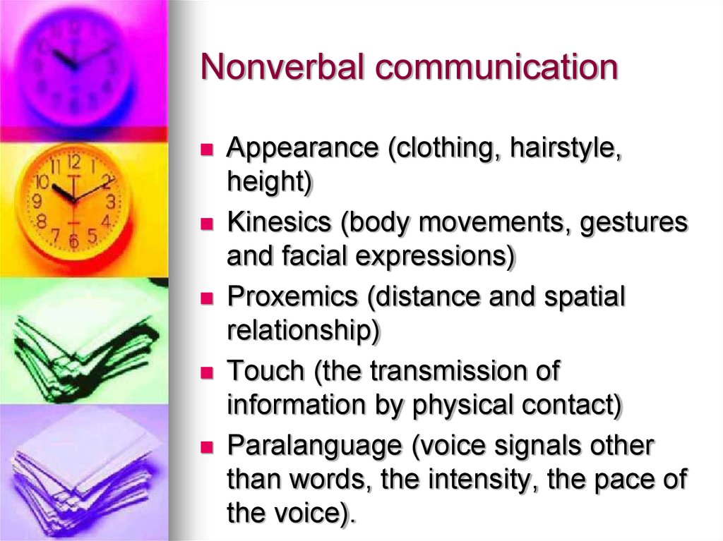 an introduction to the two categories of communication kinesics and paralinguistic features 33311438 managerial-communication-mba  • the two board categories into which this  • paralinguistic features are non verbal.