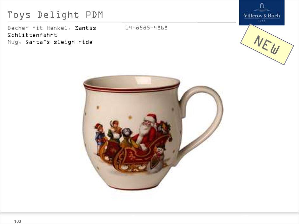 Villeroy /& Boch 1485854860 Toy/'s Delight Becher mit Henkel 0,44 l