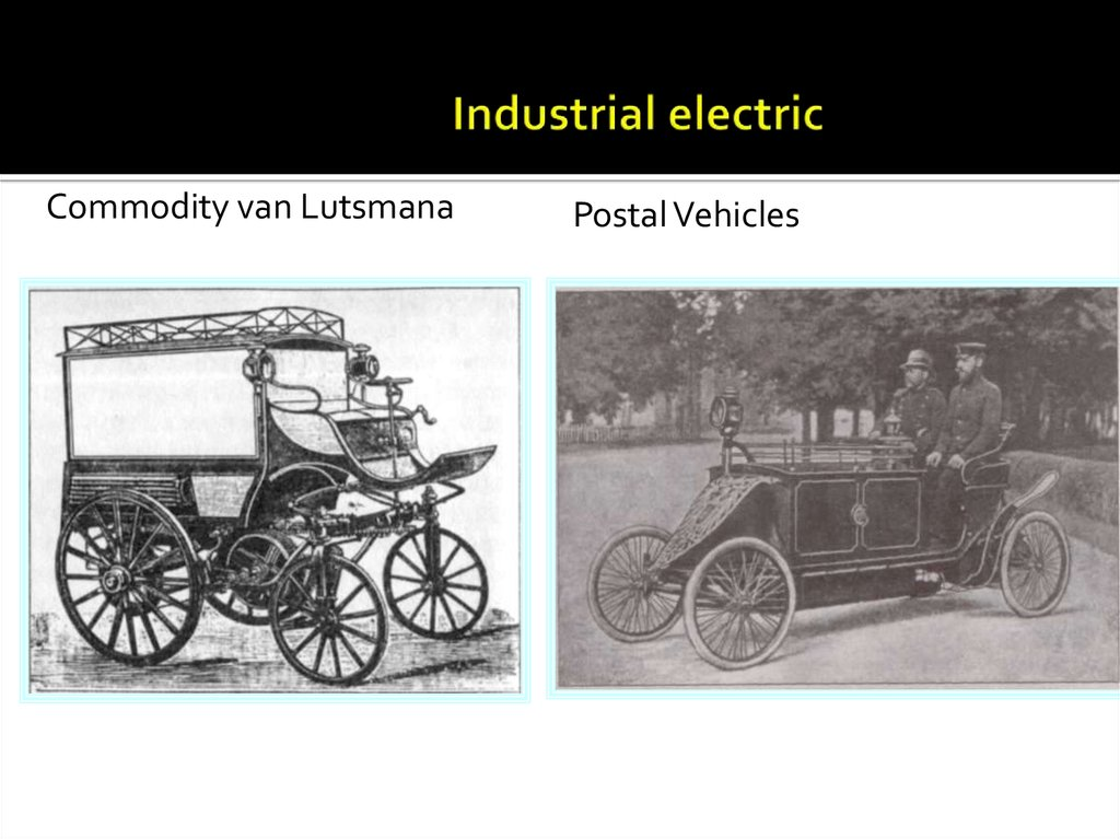 Industrial electric